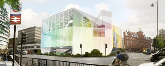 A digital hub in a transport hub: the vision for Silicon Roundabout (courtesy BBC)
