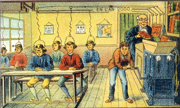 Previous visions of the future of education have been wide of the mark.